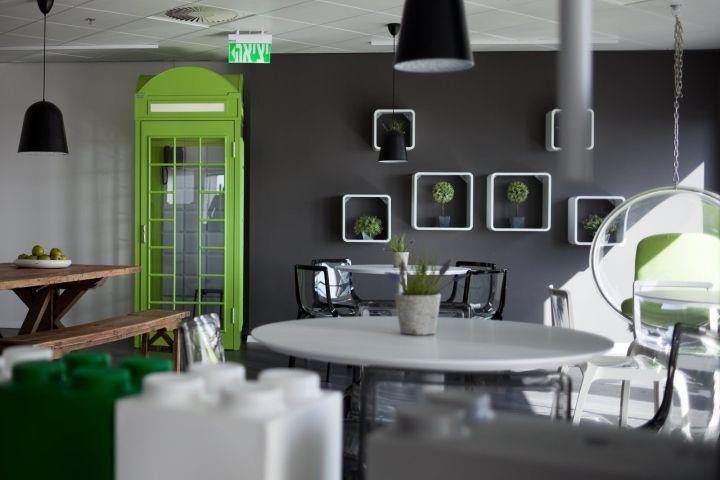 Креативный дизайн офиса в Израиле: фото