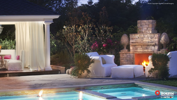 17 best images about outdoor living spaces on pinterest for Isokern fireplace inserts