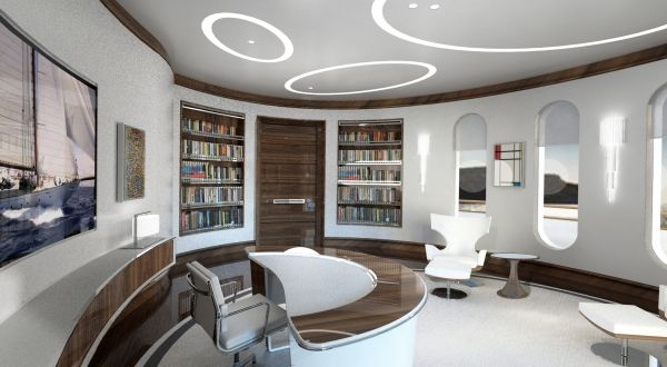 Pelle Pietra | Lounge | Features | SuperyachtDesign