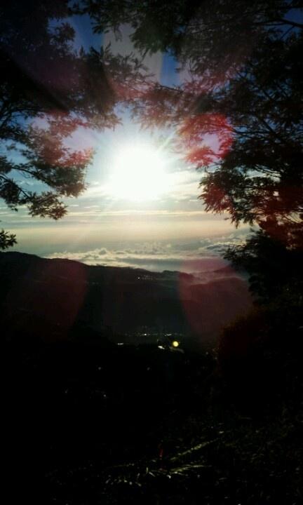 Sunrise @bukit sikunir dieng, indonesia