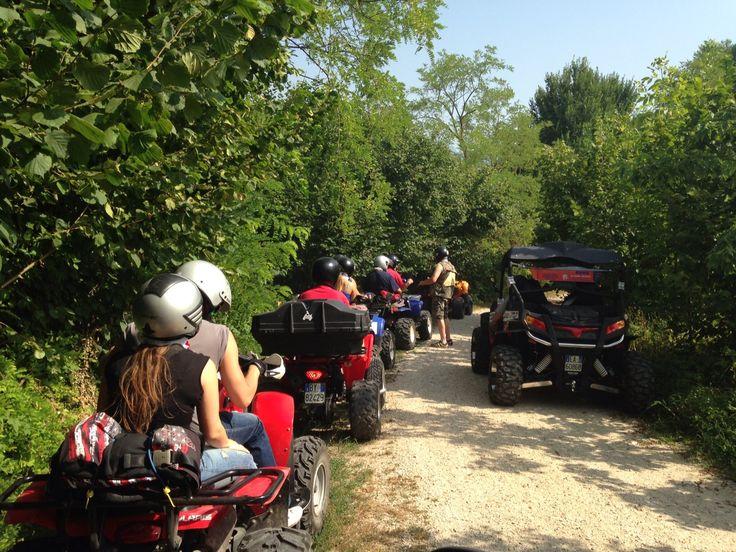 Escursione in quad al Lago di Arsiè