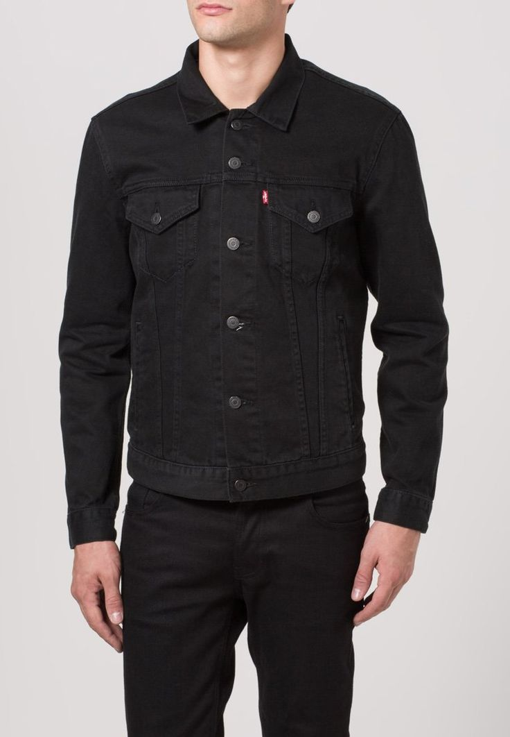 LeviS Sir THE TRUCKER - Denim jacket - black 58632_2_LRG.jpg 762u00d71.100 pu00edxels | Clothes ...