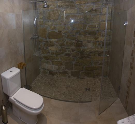 Piedra lavada para el piso de la ducha ba os pinterest - Picas de piedra para bano ...