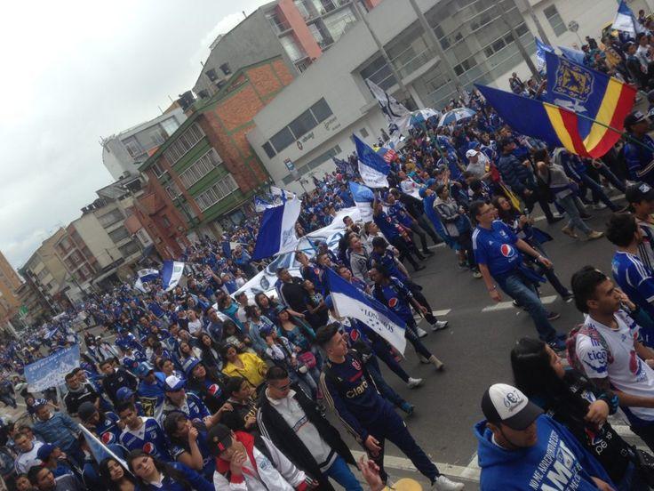 Stuck with Millonarios in Bogotá
