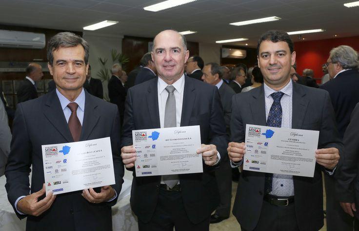 Paulo Henrique Pires, Ricardo Falci e Adermo Costa