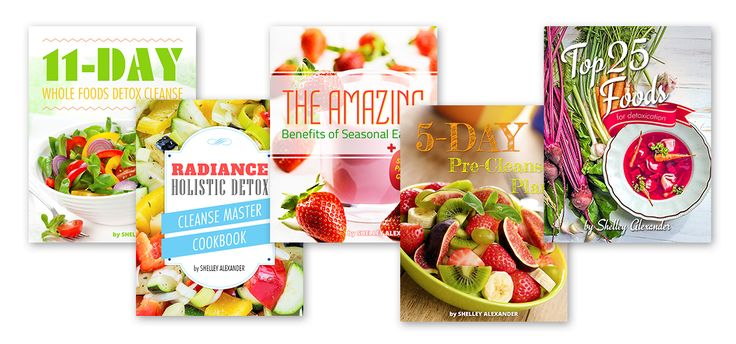 The radiance holistic detox cleanse program is awesome! Get rid of toxins, lose weight, get energized  and feel great eating whole foods. Get the program and start today!
