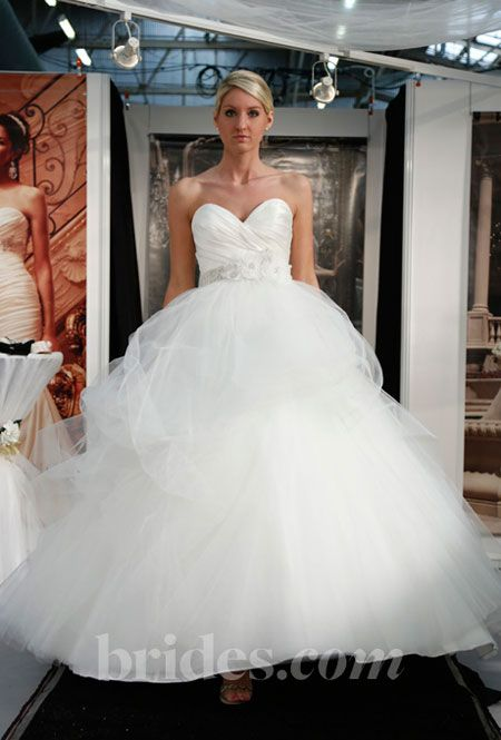 casablanca wedding dresses spring 2013 ball gown tulle