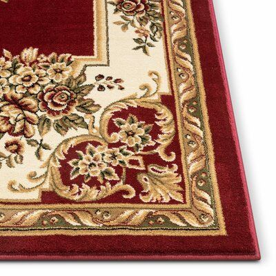 Astoria Grand Colindale Oriental Burgundy Red Area Rug In 2021 Red Area Rug Rugs Area Rugs