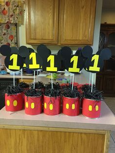 Mickey Mouse center piece