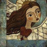 L'angelo azzurro Poster di Teresa Kogut