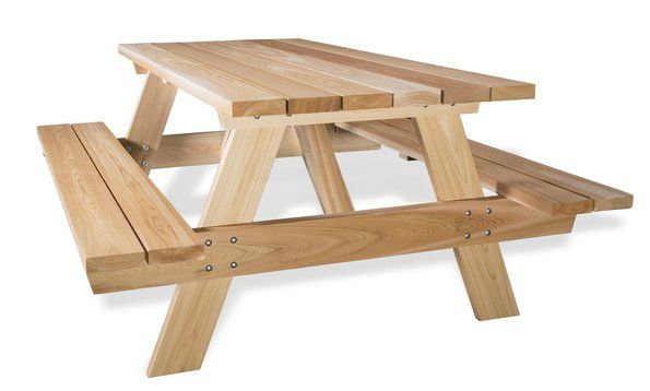 10 Star Spangled Exteriors Worth Saluting With Images Picnic Table Wooden Picnic Tables Patio Table
