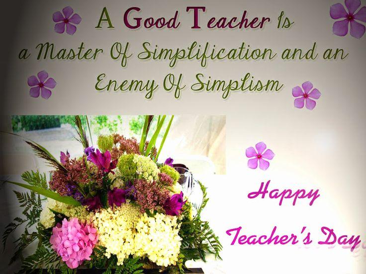Teacher day Card