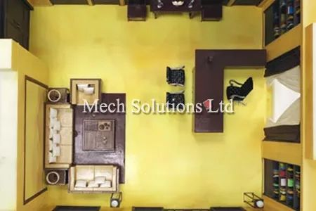 3D Printing, prototype rooms, marketing, high precision, fine details, SLA, photopolymer