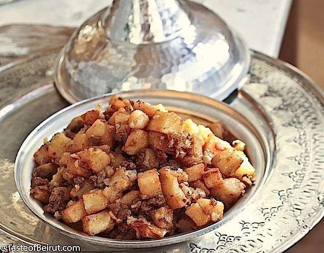 174 best middle eastern food vegetables images on pinterest arabic potato hash mfarket al batata forumfinder Image collections