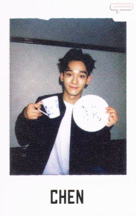 Chen - 160801 Official EXO-L Japan Book Vol.4 - [SCAN][HQ] Credit: _Cloud0506.