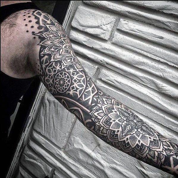 Unique Mens Geometric Sleeve Tattoos Geometric Sleeve Tattoo Geometric Tattoo Sleeve Designs Sleeve Tattoos