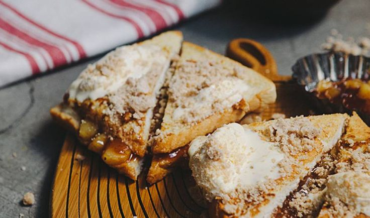 When You're Too Lazy to Bake: Apple Pie French Toast - Pepper.ph