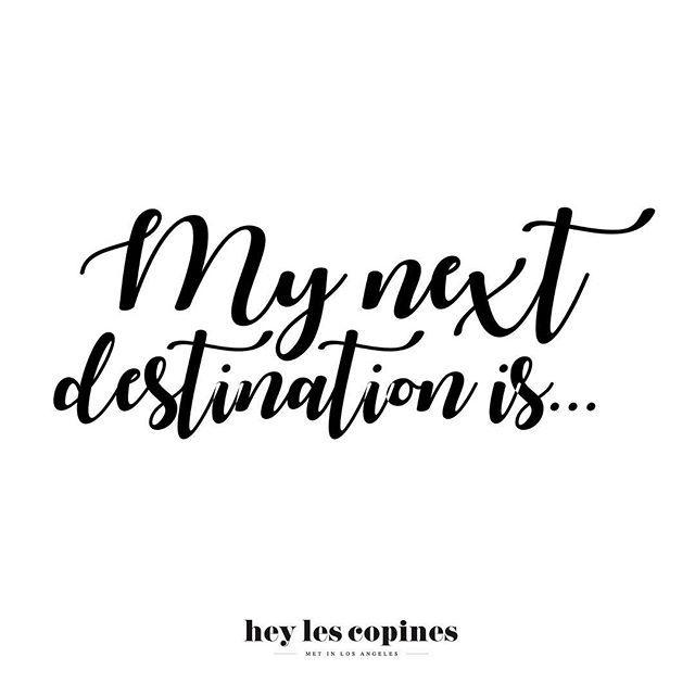 Bon au lieu de sortir les parapluies aujourd'hui on a choisi de sortir les agendas !!! Avec tous ces ponts de Mai on va bien réussir à partir nan ? Quelles sont vos prochaines destinations les Copines ? À vos commentaires  #voyage #copines #heylescopines #dametraveler #keepexploring #pligoubli