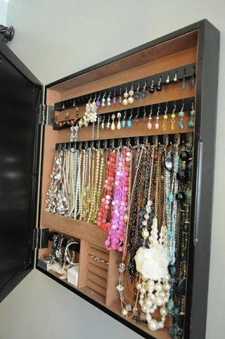Earring Organization with a Cheese Grater - 150 Dollar Store Organizing Ideas and Projects for the Entire Home