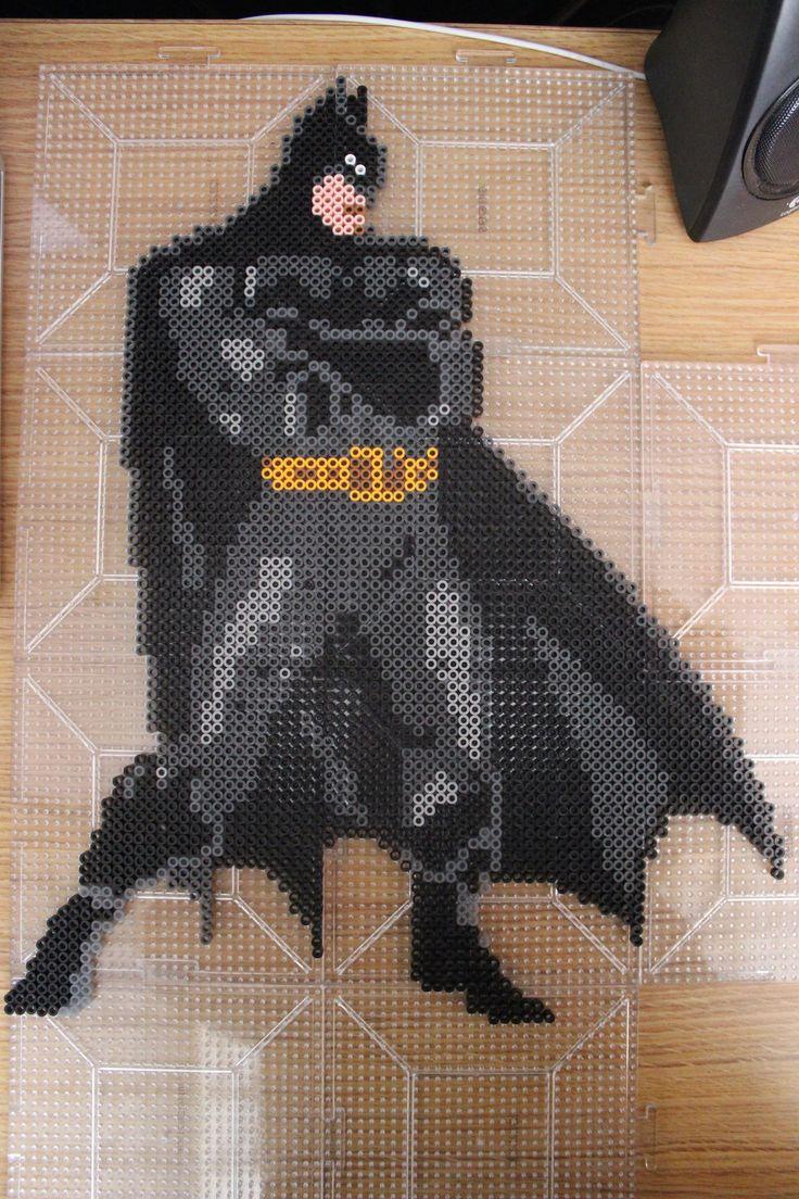 Perler Batman New 52 (Pre-Iron) by Proto-Kye on deviantART