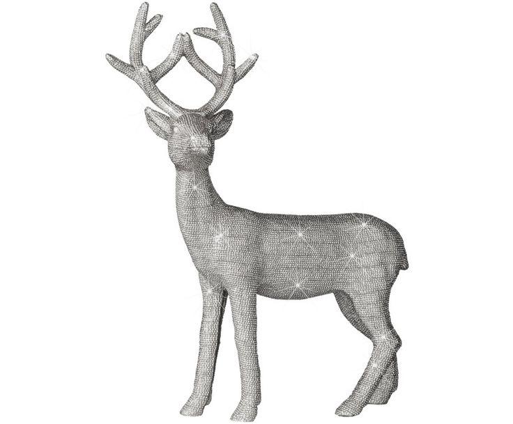светодиодный-олень
