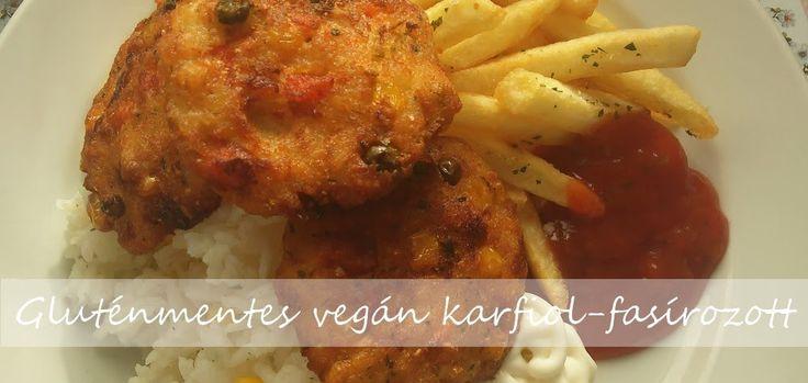 VeganNotesz.hu - vegán receptek, terméktesztek: Gluténmentes vegán karfiol-fasírozott recept