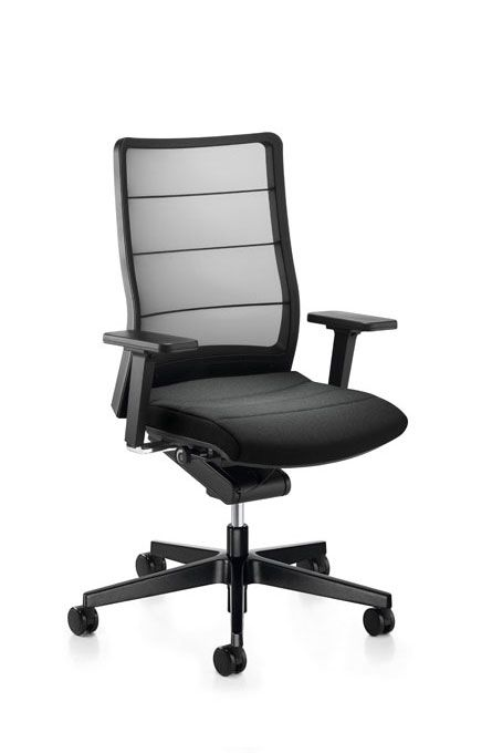 famous office chairs. the interstuhl airpad chair makes an appearance in new famous office chairs