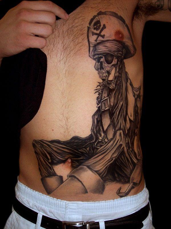 40 Fantastic Pirate Tattoo Designs 31