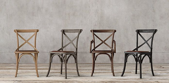 60 best dininf room images on pinterest armchairs for Restoration hardware metal chair