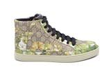 """Gucci Boots Mens Gucci 'common' High Top Sneakers In """"bloom Print Size U.s. 10 