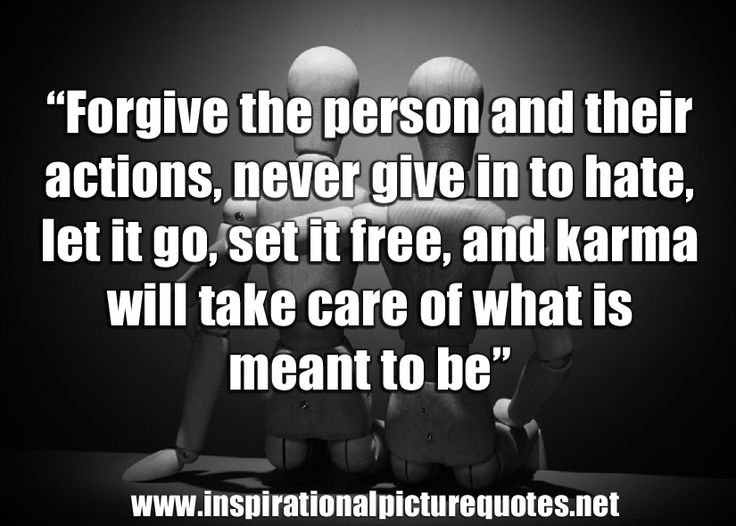 Karma Quotes Sayings: Forgive For Good Karma - Inspirational