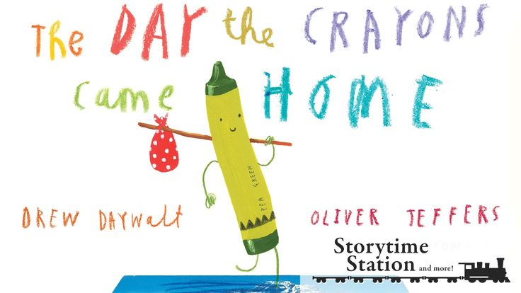 The Day the Crayons Came Home by Drew Daywalt - Books for kids read aloud!