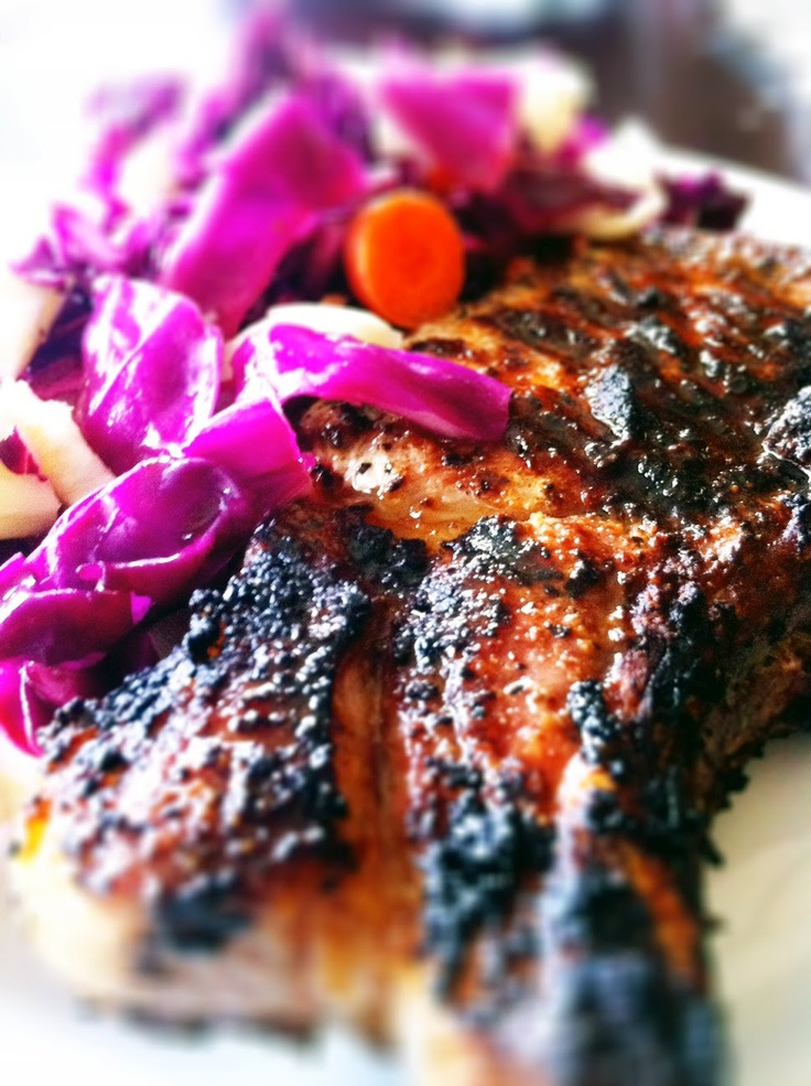 Local Food Rocks: Spice Rubbed Grilled Pork Chops