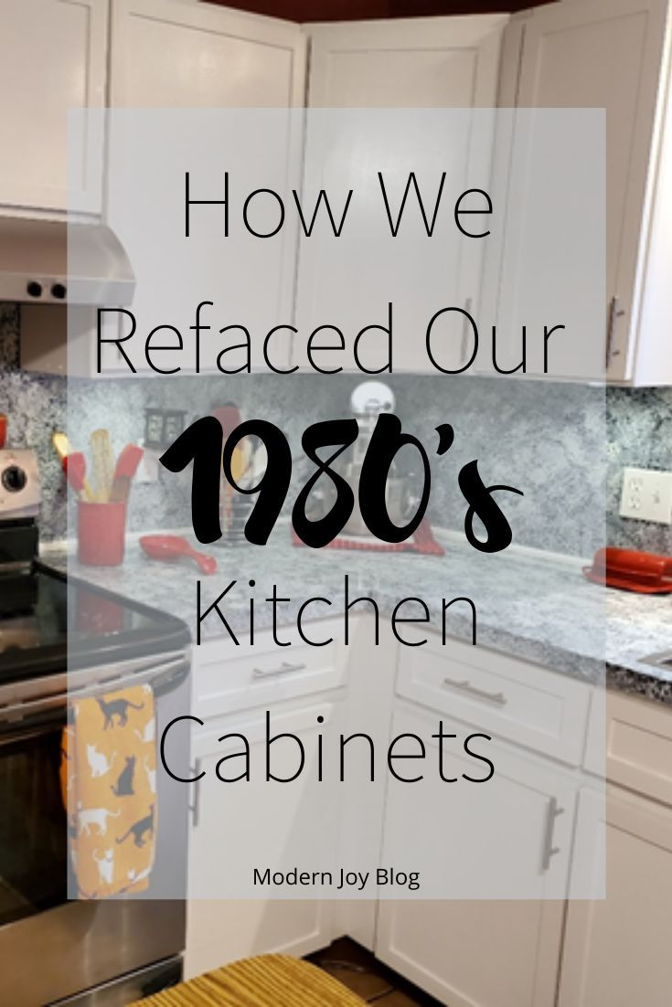 Kitchen Cabinets Why How We Refaced Instead Of Replaced Diy Kitchen Cabinets Diy Kitchen Remodel Kitchen Cabinets
