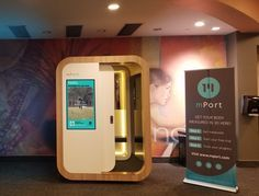 The mPod is a 3-D body scanner coming to a gym near you #Startups #Tech
