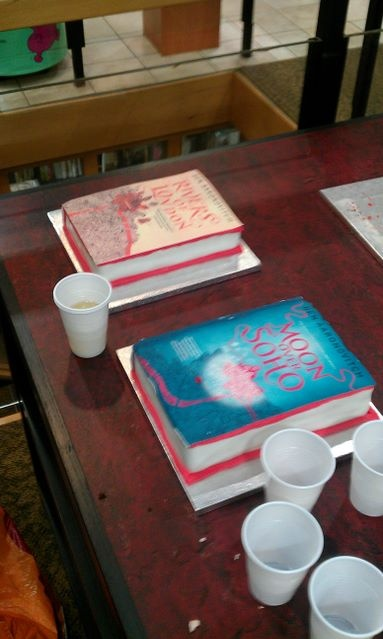 Amazing Cakes For A Signing With The Lovely Ben Aaronovitch. 29th June 2012