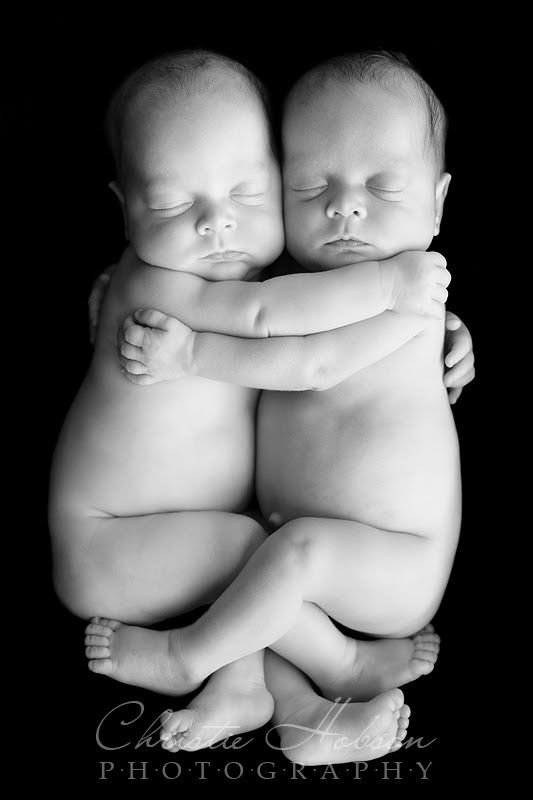 Newborn Twins- hope one day i get the chance to photograph twins...