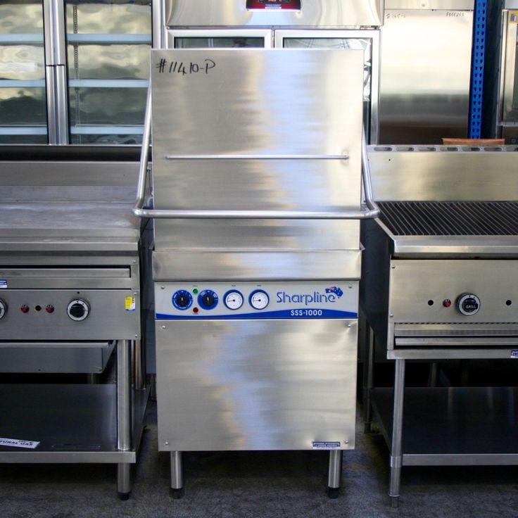 Industrial Kitchen Dishwasher: Sharpline SSS-1000 Passthrough Commercial Dishwasher