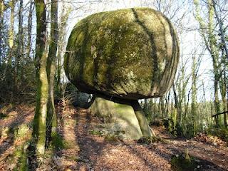 Giant 'mushroom' - Huelgoat