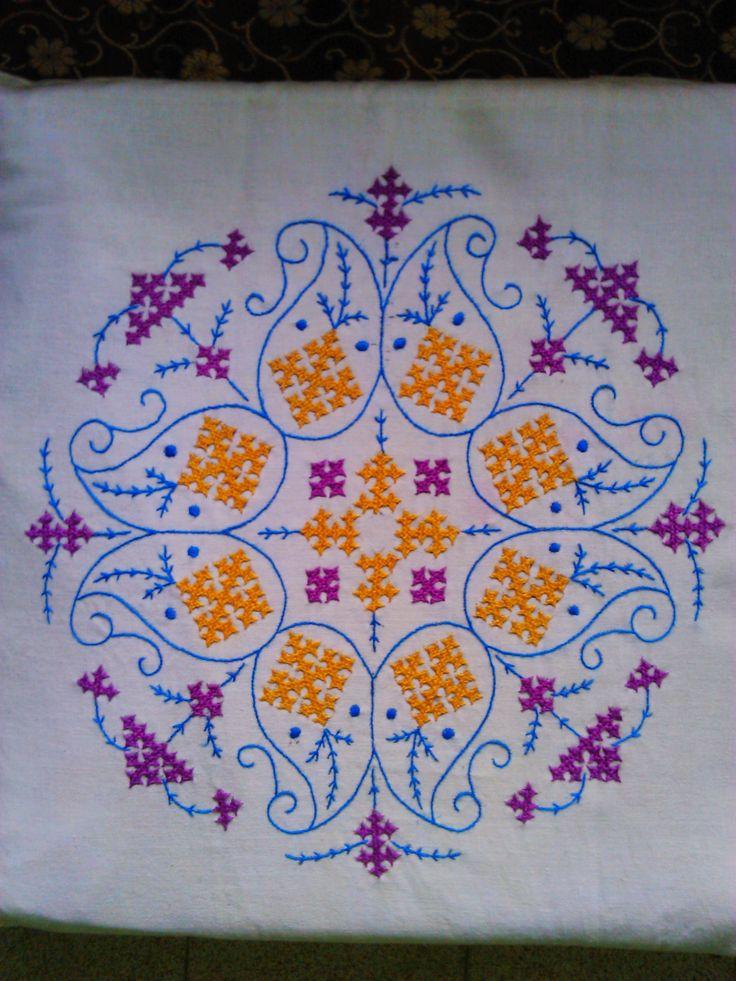 Cushion cover....Kutch work again !!!