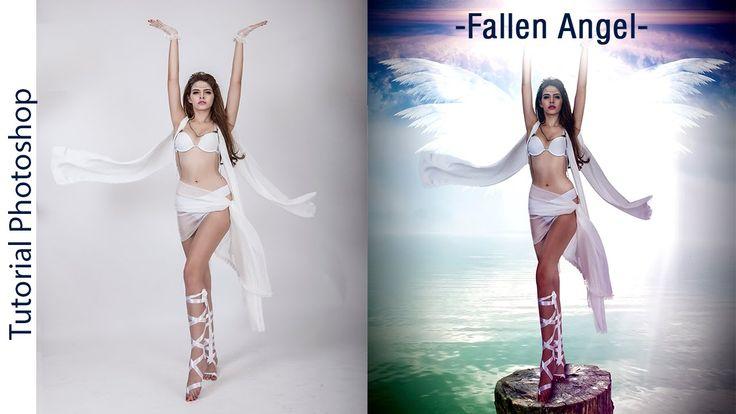 """Tutorial Photoshop: Fotomanipulación """"Fallen Angel"""" by @stibenmd"""