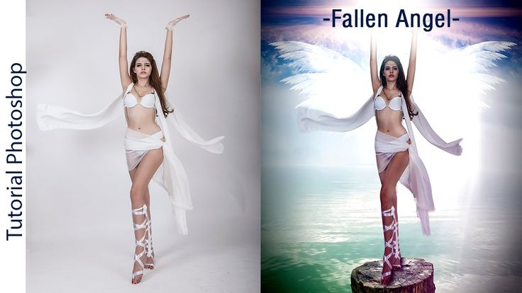 "Tutorial Photoshop: Fotomanipulación ""Fallen Angel"" by @stibenmd"
