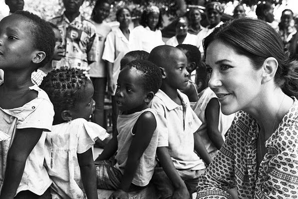 Crown Princess Mary, Danish Refugee Council