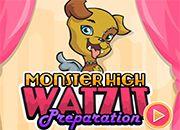 Monster High Watzit Preparation | Juegos Monster High - jugar online