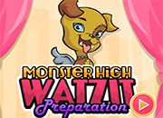 Monster High Watzit Preparation | Juegos Monster High - jugar online