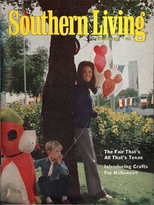 Nice Vintage Southern Living Cover From October 1971