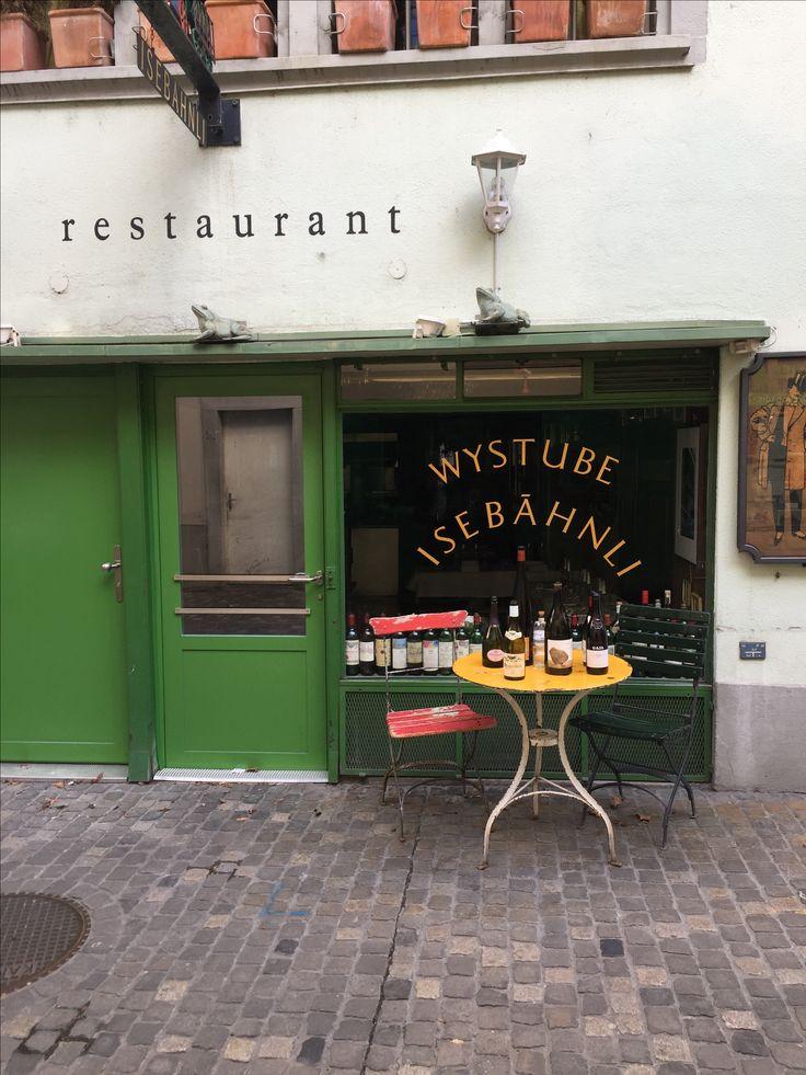 Wyistube . Isebähndli . Zürich .