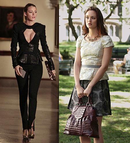 Being Brazen: Gossip Girl, Season 4 - outfit spotting. Maxime Simoens jacket.