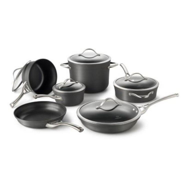 Calphalon Contemporary Nonstick 11-Piece Cookware Set - 1876787