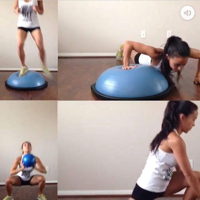 Bosu Ball Hiit: 477 Best Exercise With BOSU Images On Pinterest